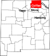 Colfax County, New Mexico Trails